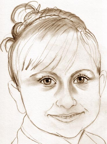 Kreslime Portrety A Karikatury Postup Prace Krok Za Krokem